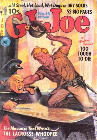 Cover for G.I. Joe (Ziff-Davis, 1951 series) #15