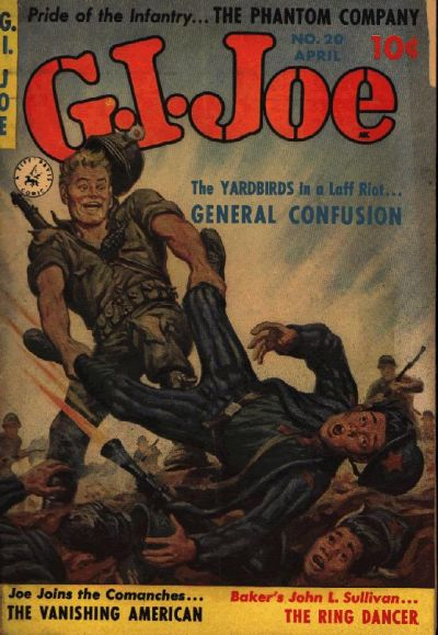 Cover for G.I. Joe (Ziff-Davis, 1951 series) #20