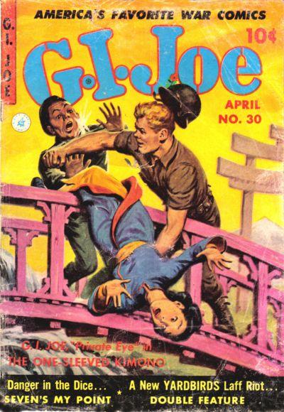 Cover for G.I. Joe (Ziff-Davis, 1951 series) #30