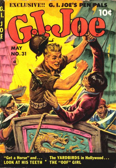 Cover for G.I. Joe (Ziff-Davis, 1951 series) #31