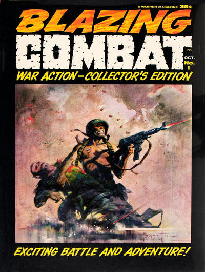 Cover for Blazing Combat (Warren, 1965 series) #1