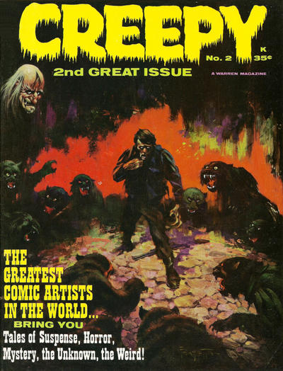 Cover for Creepy (Warren, 1964 series) #2