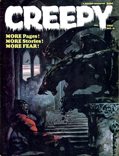 Cover for Creepy (Warren, 1964 series) #6