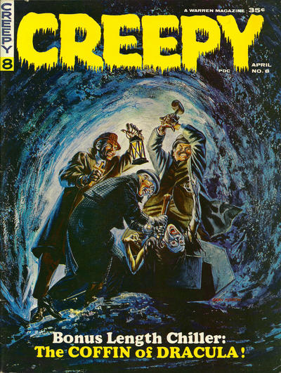 Cover for Creepy (Warren, 1964 series) #8