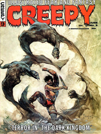 Cover for Creepy (Warren, 1964 series) #9
