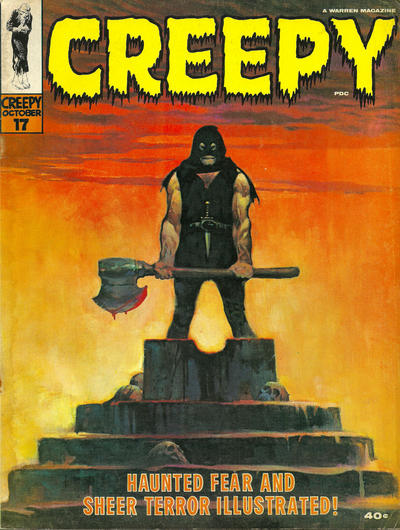 Cover for Creepy (Warren, 1964 series) #17