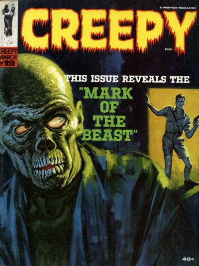 Cover for Creepy (Warren, 1964 series) #19