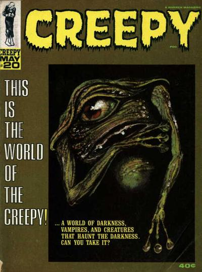 Cover for Creepy (Warren, 1964 series) #20