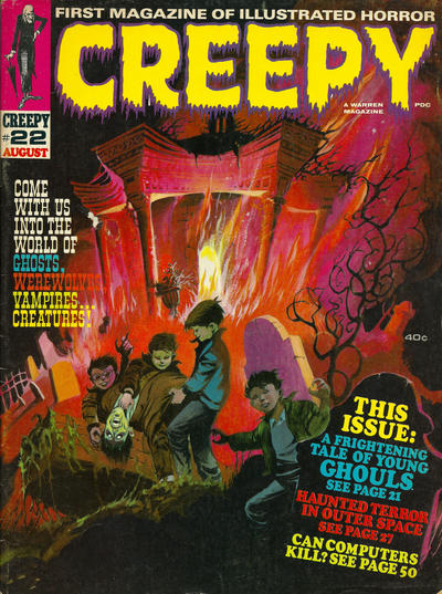 Cover for Creepy (Warren, 1964 series) #22