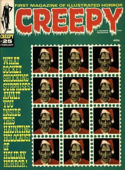 Cover for Creepy (Warren, 1964 series) #25