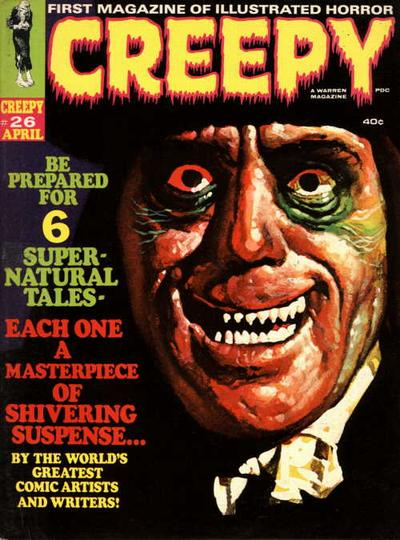 Cover for Creepy (Warren, 1964 series) #26