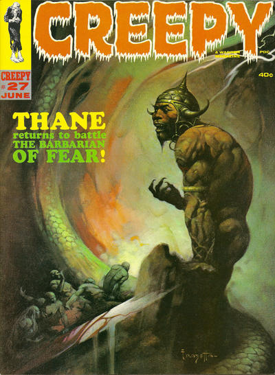 Cover for Creepy (Warren, 1964 series) #27