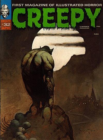 Cover for Creepy (Warren, 1964 series) #32