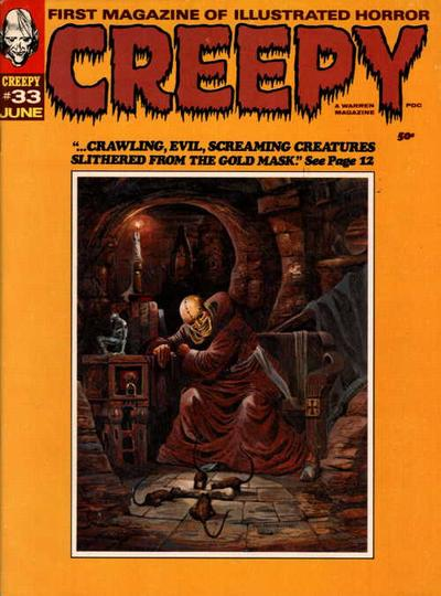Cover for Creepy (Warren, 1964 series) #33
