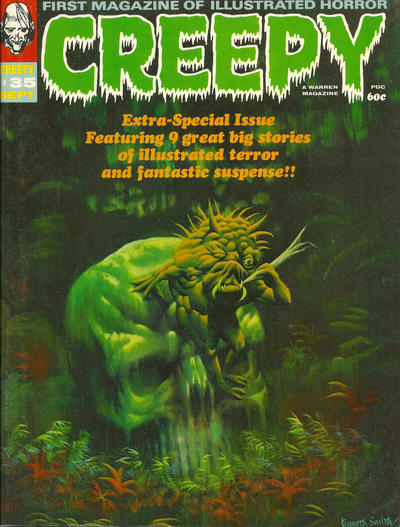 Cover for Creepy (Warren, 1964 series) #35