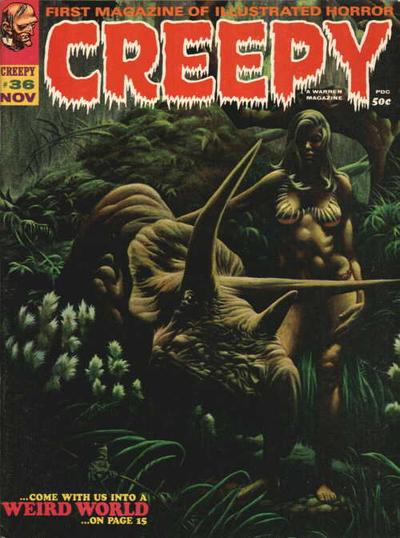 Cover for Creepy (Warren, 1964 series) #36