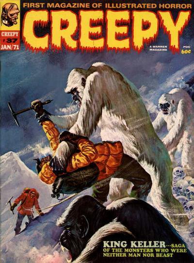 Cover for Creepy (Warren, 1964 series) #37