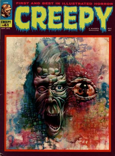 Cover for Creepy (Warren, 1964 series) #41