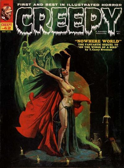 Cover for Creepy (Warren, 1964 series) #42