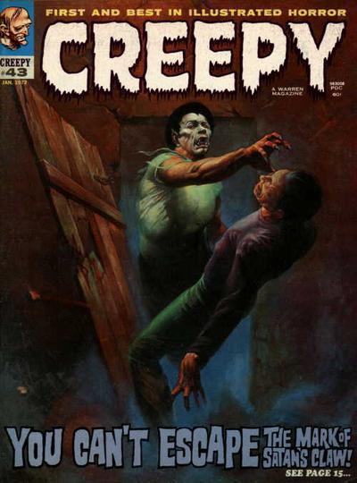 Cover for Creepy (Warren, 1964 series) #43