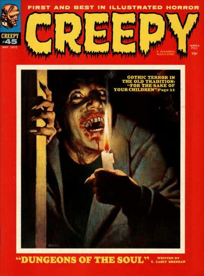 Cover for Creepy (Warren, 1964 series) #45