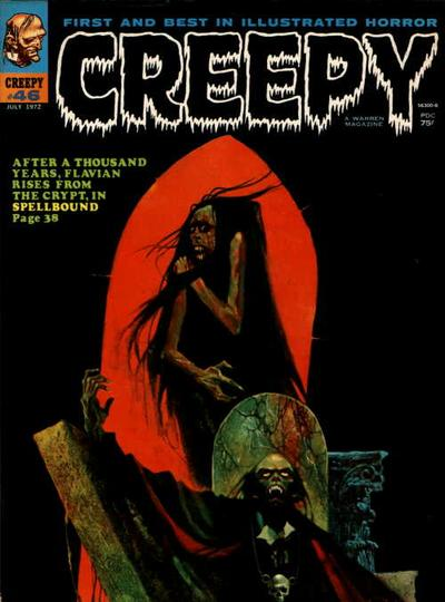 Cover for Creepy (Warren, 1964 series) #46