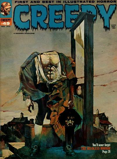 Cover for Creepy (Warren, 1964 series) #49