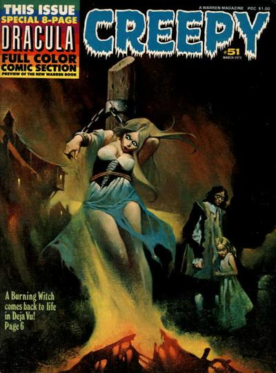 Cover for Creepy (Warren, 1964 series) #51
