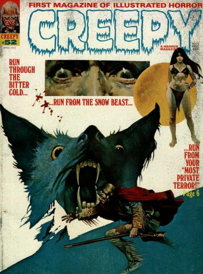 Cover for Creepy (Warren, 1964 series) #52