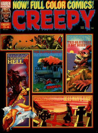 Cover for Creepy (Warren, 1964 series) #54