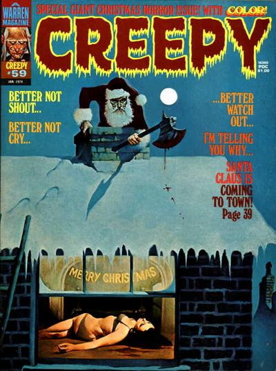 Cover for Creepy (Warren, 1964 series) #59