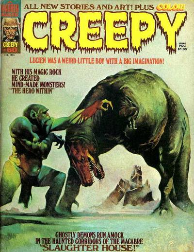 Cover for Creepy (Warren, 1964 series) #60