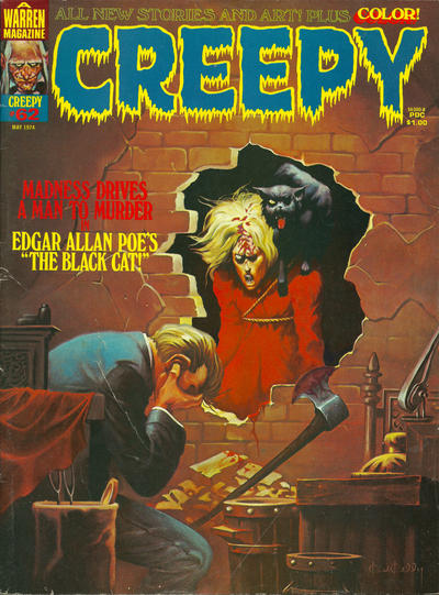 Cover for Creepy (Warren, 1964 series) #62
