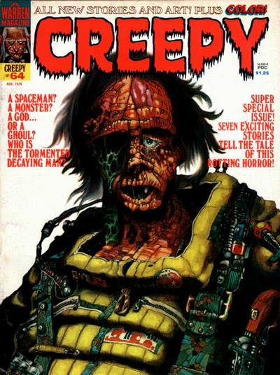 Cover for Creepy (Warren, 1964 series) #64