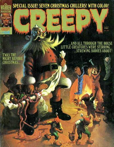 Cover for Creepy (Warren, 1964 series) #68