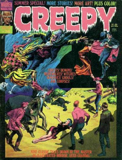 Cover for Creepy (Warren, 1964 series) #74