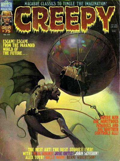 Cover for Creepy (Warren, 1964 series) #75