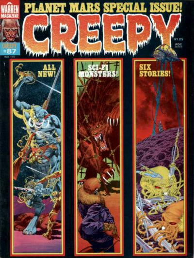 Cover for Creepy (Warren, 1964 series) #87