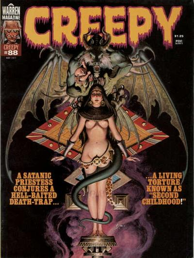 Cover for Creepy (Warren, 1964 series) #88