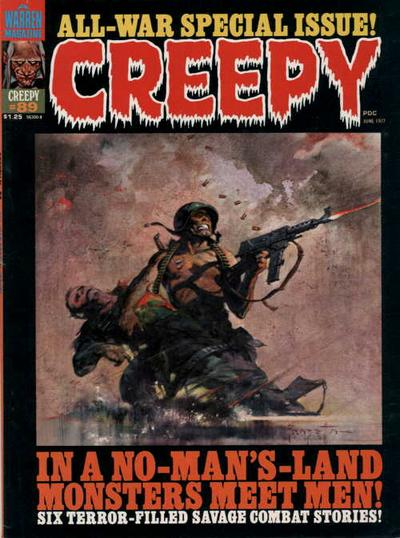 Cover for Creepy (Warren, 1964 series) #89