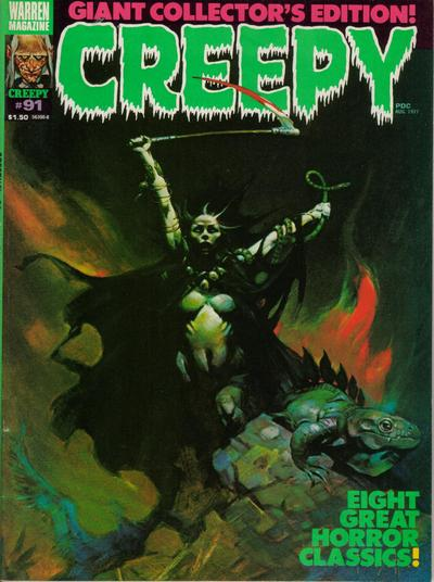 Cover for Creepy (Warren, 1964 series) #91