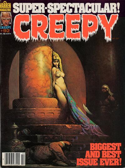 Cover for Creepy (Warren, 1964 series) #92