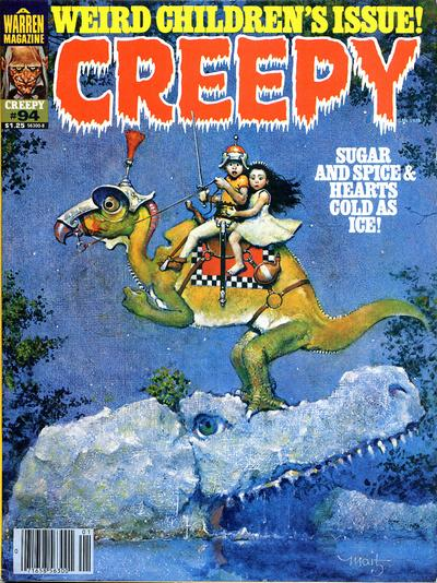 Cover for Creepy (Warren, 1964 series) #94