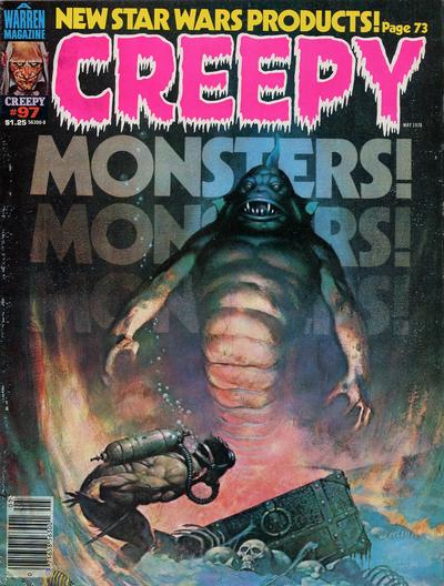 Cover for Creepy (Warren, 1964 series) #97