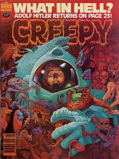Cover for Creepy (Warren, 1964 series) #114