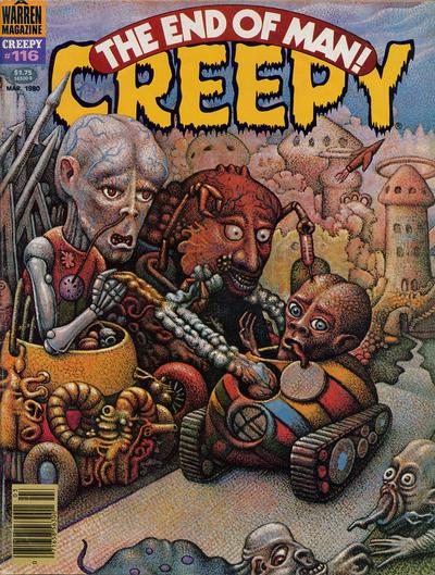 Cover for Creepy (Warren, 1964 series) #116