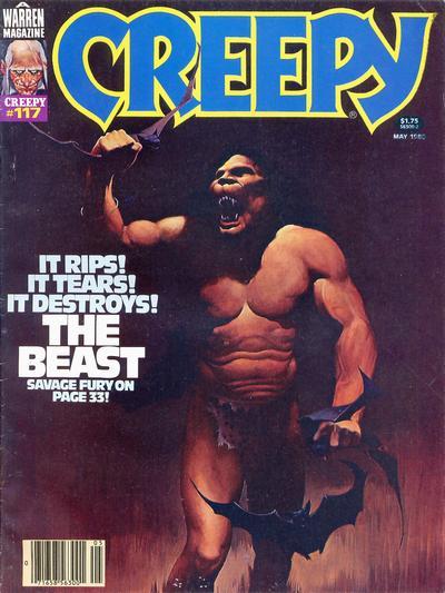 Cover for Creepy (Warren, 1964 series) #117