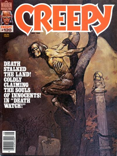 Cover for Creepy (Warren, 1964 series) #120