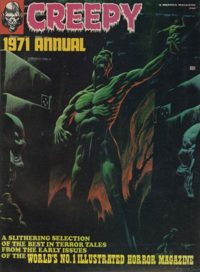 Cover for Creepy Annual (Warren, 1971 series) #1971