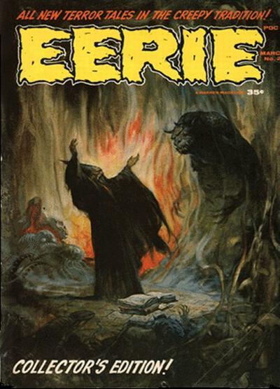 Cover for Eerie (Warren, 1966 series) #2